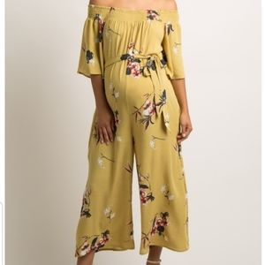 Maternity floral jumper